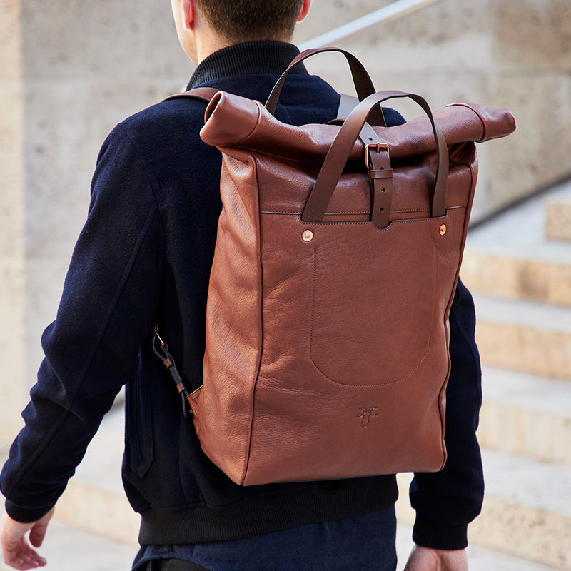Billy Tannery backpack Friends of Goatober Category - Leather